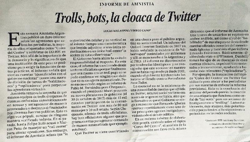 Trolls, bots, la cloaca de Twitter